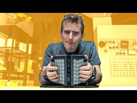 Typing Backwards? Oh No.. – Weird Keyboard Review (Yogitype)