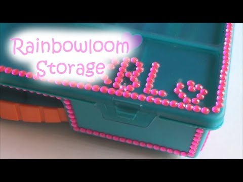 Rainbowloom Storage Case