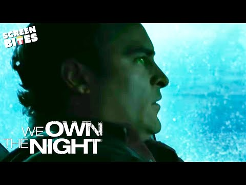 We Own The Night: Bobby (Joaquin Phoenix) and Amanda (Eva Mendes) car chase
