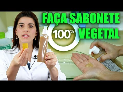 Faça você mesmo um sabonete 100% vegetal!