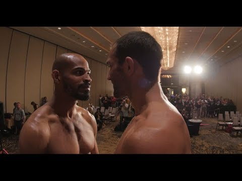Fight Night Pittsburgh: Weigh-in Faceoffs (видео)
