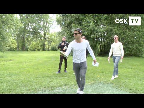 Discgolf med ÖSK Fotboll