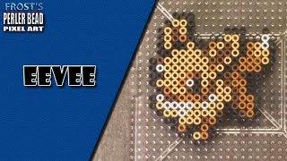 Pokemon: Perler Bead Eevee