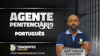 Aula de Português para Agente Penitenciário do Ceará com o profº José Carlos Flauzino. Gostou da aula? Confira mais em www.tiradentesonline.com.br ...