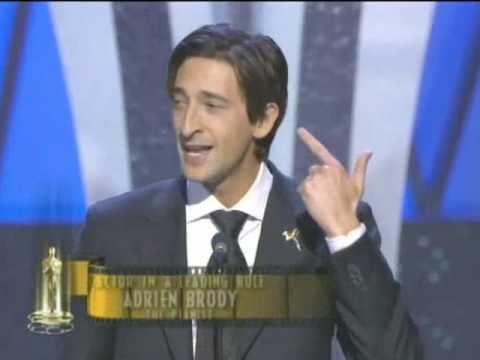 brody's - Adrien Brody winning the Best Actor Oscar® for