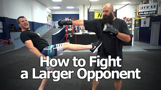 Video How to Fight Someone Bigger and Stronger Than You - The Trick To Beating Larger Opponents MP3, 3GP, MP4, WEBM, AVI, FLV Februari 2019