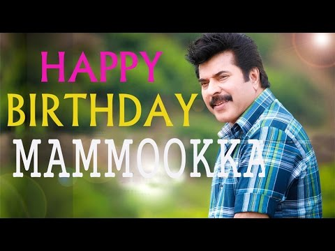 Happy Bday Mammookka | Bday Song For Actor Mammootty