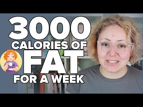 Atkins diet - 3000 calories of FAT for a WEEK - Fat Fasting on Keto Calories in calories out myth Fat Fast