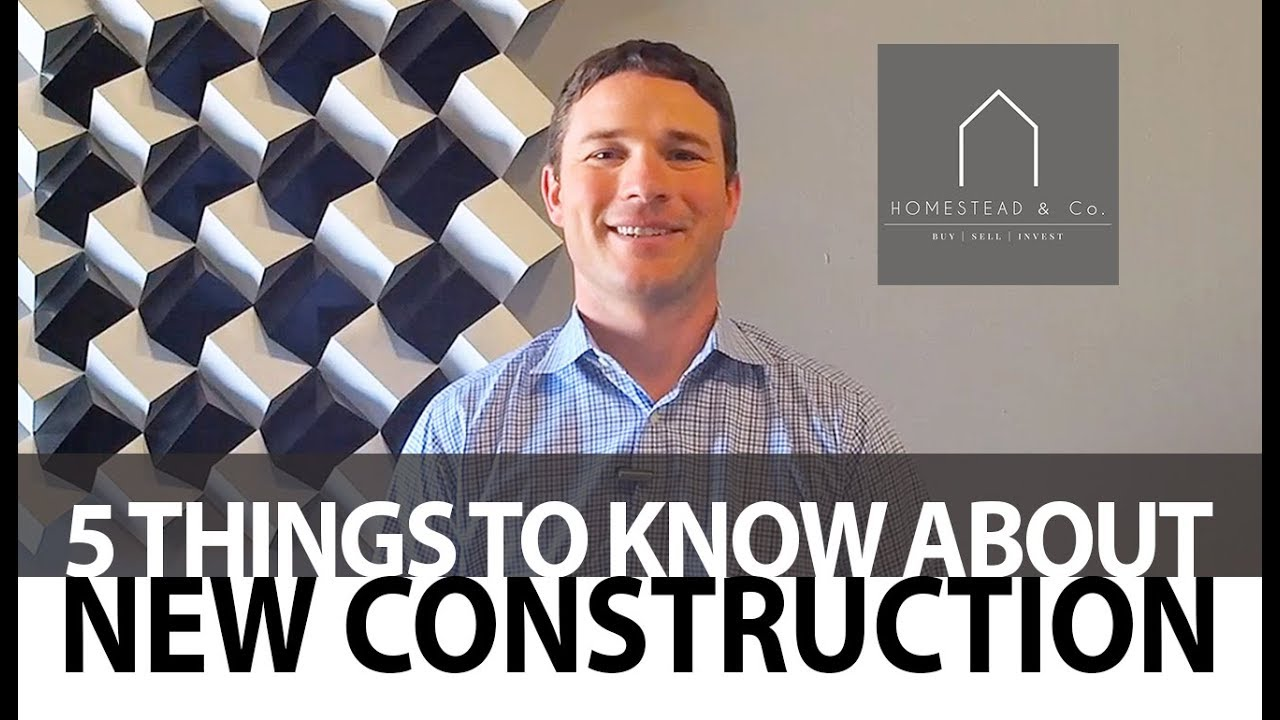 5 Tips to Know Before Buying New Construction