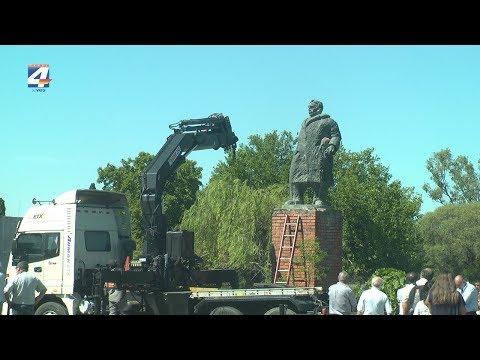 Comenzó proceso de traslado del monumento a José Batlle y Ordóñez