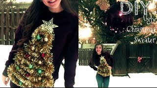DIY: Ugly Christmas Sweater - YouTube