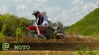 Chad Reed Is Back! Training For Supercross 2013
