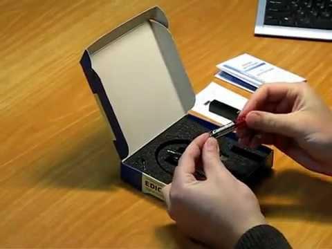 Цифровой диктофон Edic-mini PRO B42 на http://enigmapro.com.ua (видео)