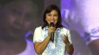 VP Robredo thanks supporters at QC