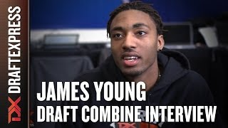 James Young Draft Combine Interview