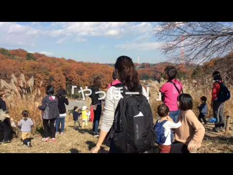 和光鶴川幼稚園 2歳児親子教室「はらっぱ」 野津田公園に出かけたよ。