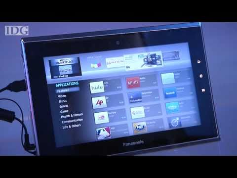 CES 2011: Panasonic's tablet works with a TV