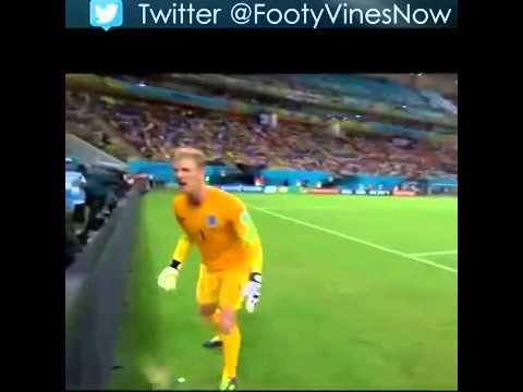 Joe Hart Wants The Fucking Ball Boy #Football #Funny #Soccer #Futbol #WorldCup #Brasil #Brasil