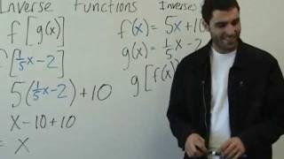 Algebra 2 - Inverse Functions
