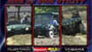 7. ATV Television Test - 2004 3-UTV Comparison part 1 of 2