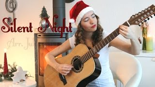 """Silent Night"" on 12-string - Julia Lange"