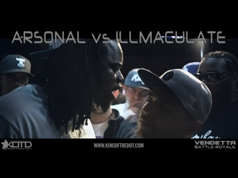 KOTD - Rap Battle - Arsonal vs Illmaculate