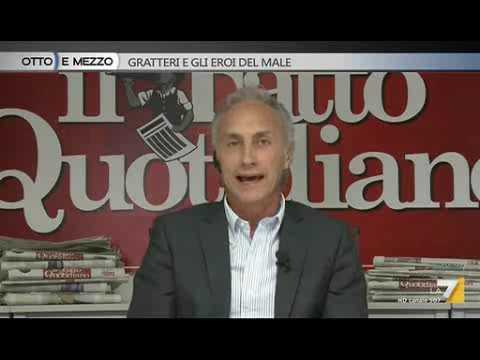 Marco Travaglio: Non ho avuto paura di un teppistello e la sua famiglia.