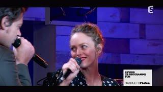 "Video Vanessa Paradis et Benjamin Biolay ""Pas besoin de permis"" - C à vous - 28/11/2014 MP3, 3GP, MP4, WEBM, AVI, FLV November 2017"