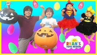 Easter Egg Hunt Surprise Toys Challenge for Kids