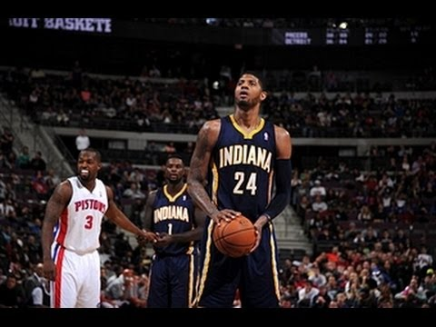 Video: Paul George Leads the Pacers' 25-Point Comeback in Detroit