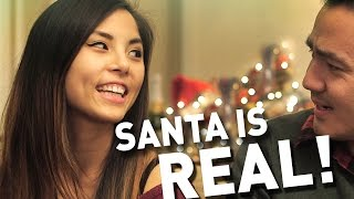 Video SANTA IS REAL! ft Anna Akana MP3, 3GP, MP4, WEBM, AVI, FLV Juli 2018