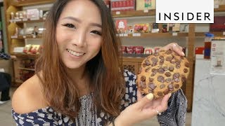 Crazy Chips In Chocolate Chip Cookie