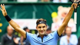 Roger Federer warmed up for Wimbledon by winning a record ninth title at the Gerry Weber Open in Halle, Germany. The 35-year-old Swiss, who is aiming for a r...