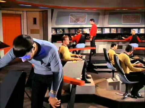 Spock - Have you ever wondered what Spock sees when he looks into that scanner thing at the science station? Well now you can find out. Part 2 - http://www.youtube.c...