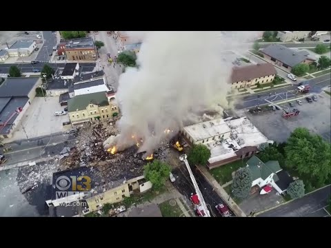 Massive Gas Explosion In Wisconsin