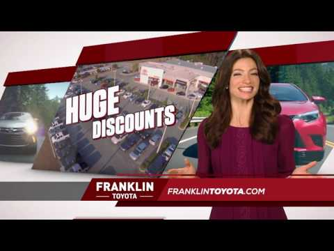 Franklin Toyota - 2016 Model Sell Off - Corolla
