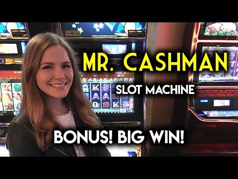 BIG WIN! MR CASHMAN! Slot Machine!