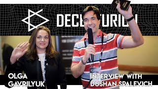 Decenturion - Olga Gavrilyuk Interview With Dushan Spalevich for ICO TV VIDEO