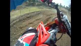 10. Honda Cr 125 r 2006 On board GoPro Chest Mount Mx test