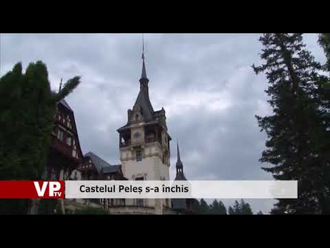 Catelul Peleș, închis temporar