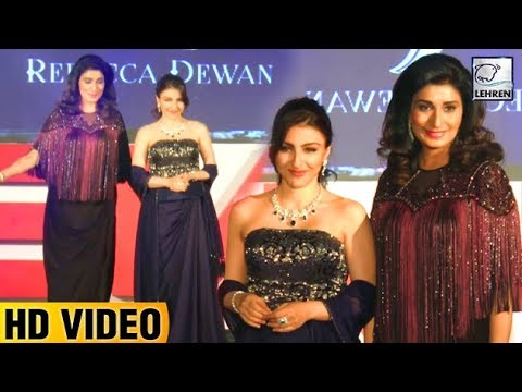 Soha Ali Khan's First Ramp Walk After Pregnancy