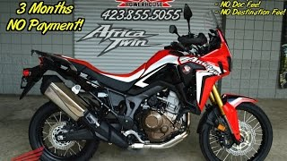 9. 2016 Honda Africa Twin SALE / Review of Specs + Start-Up Exhaust Clip - Chattanooga TN Motorcycles
