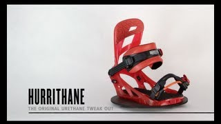 K2 Hurrithane Snowboard Bindings 2014