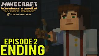 "Minecraft: Story Mode Episode 2 Walkthrough Part: 3 ""ENDING"" Gameplay"