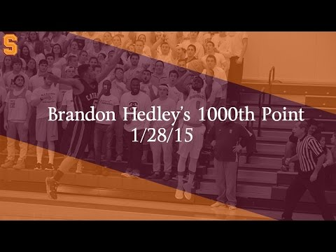 Hedley's 1000th Career Point