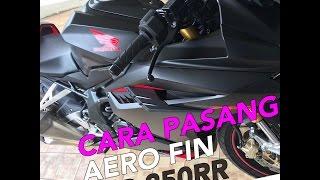 Video Cara Pasang Aero Fin Honda CBR 250RR (genuine accecories) MP3, 3GP, MP4, WEBM, AVI, FLV Desember 2017