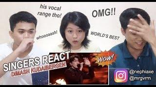 Video [SINGERS REACT] Dimash - World's Best 2019 Performance MP3, 3GP, MP4, WEBM, AVI, FLV Maret 2019