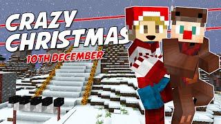 Minecraft - CRAZY CHRISTMAS [10] - AWESOME SKI SLOPE!? (with Tuxedodood)