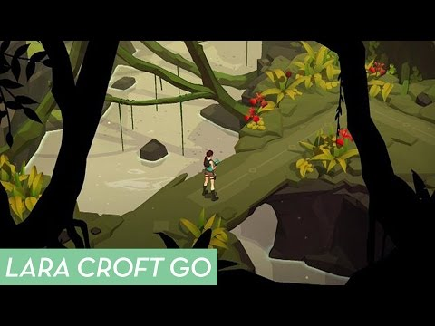 android ios ipad iphone lara-croft lara-croft-go square-enix-montreal