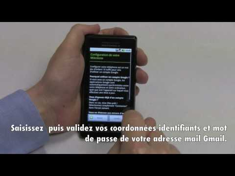 comment s'inscrire android market